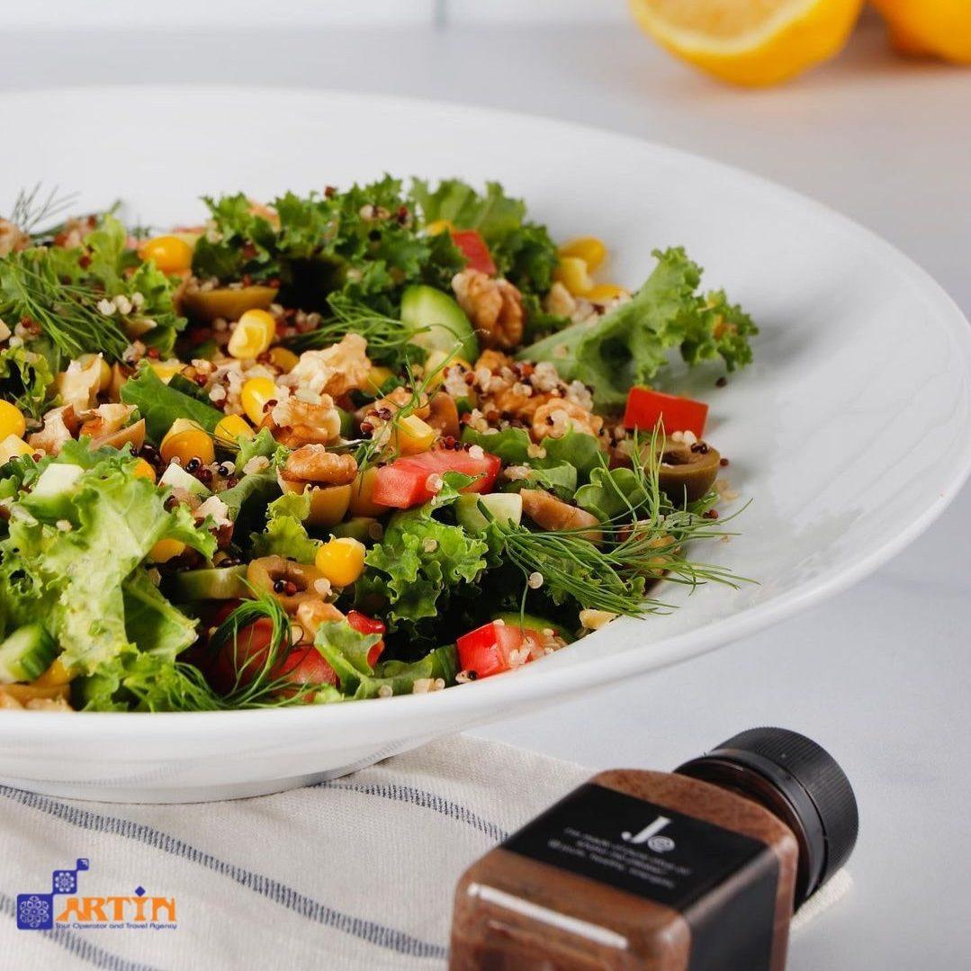 vegetarian food culture in Iran Travelartin.com