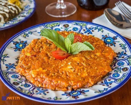 Mirza Ghasemi Persian food