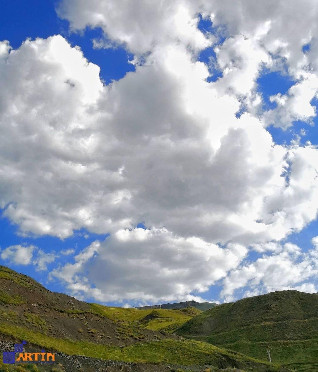 Alburz mountain ranges in Iran travelartin.com