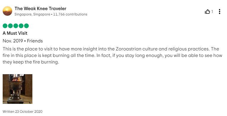 Zoroastrian fire temple Persia Yazd review