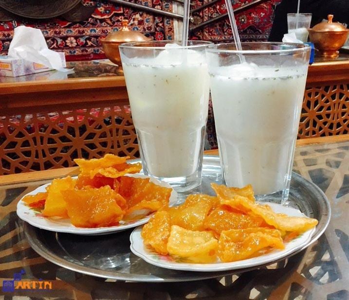 Gooshfil Doogh Isfahan signature food