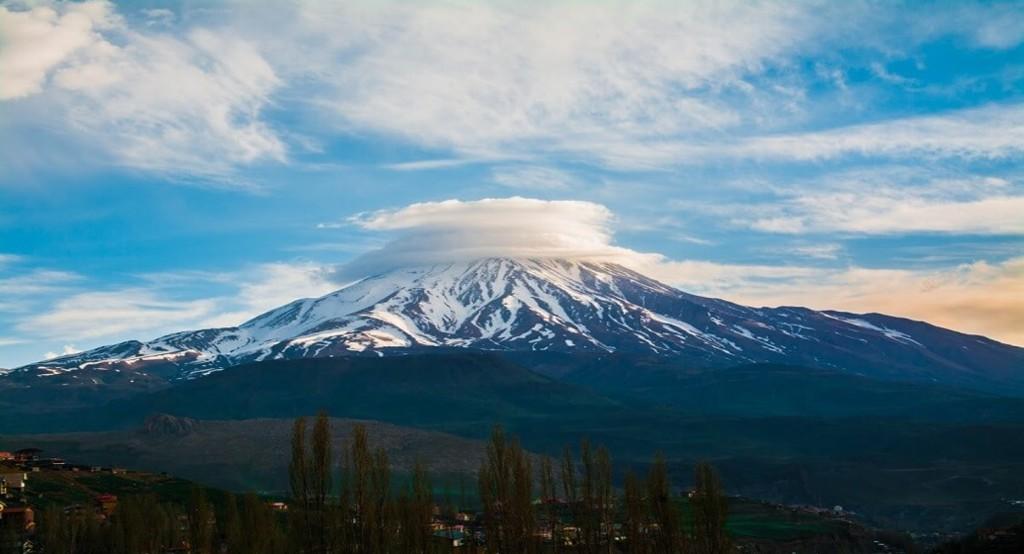 Damavand volcano in Tehran Iran highest peak Artin Travel