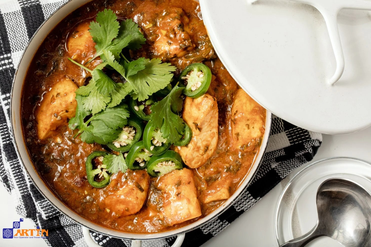 Ghalieh Mahi Iranian fish and tumeric dish
