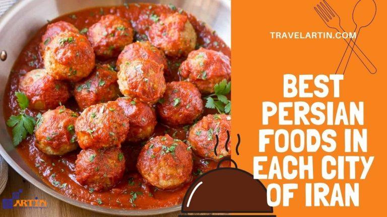 Best persian food in each city of Iran travelartin.com