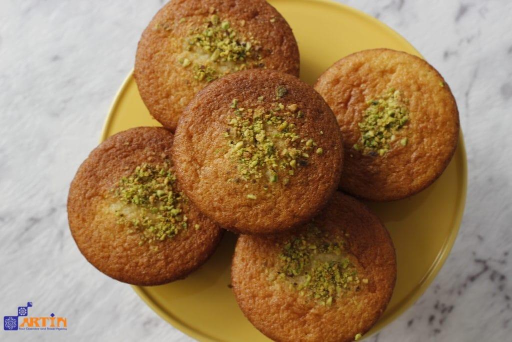 Yazdi cake-food in Yazd