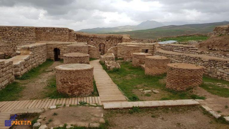takht-e soleyman fire temple Zoroastrian
