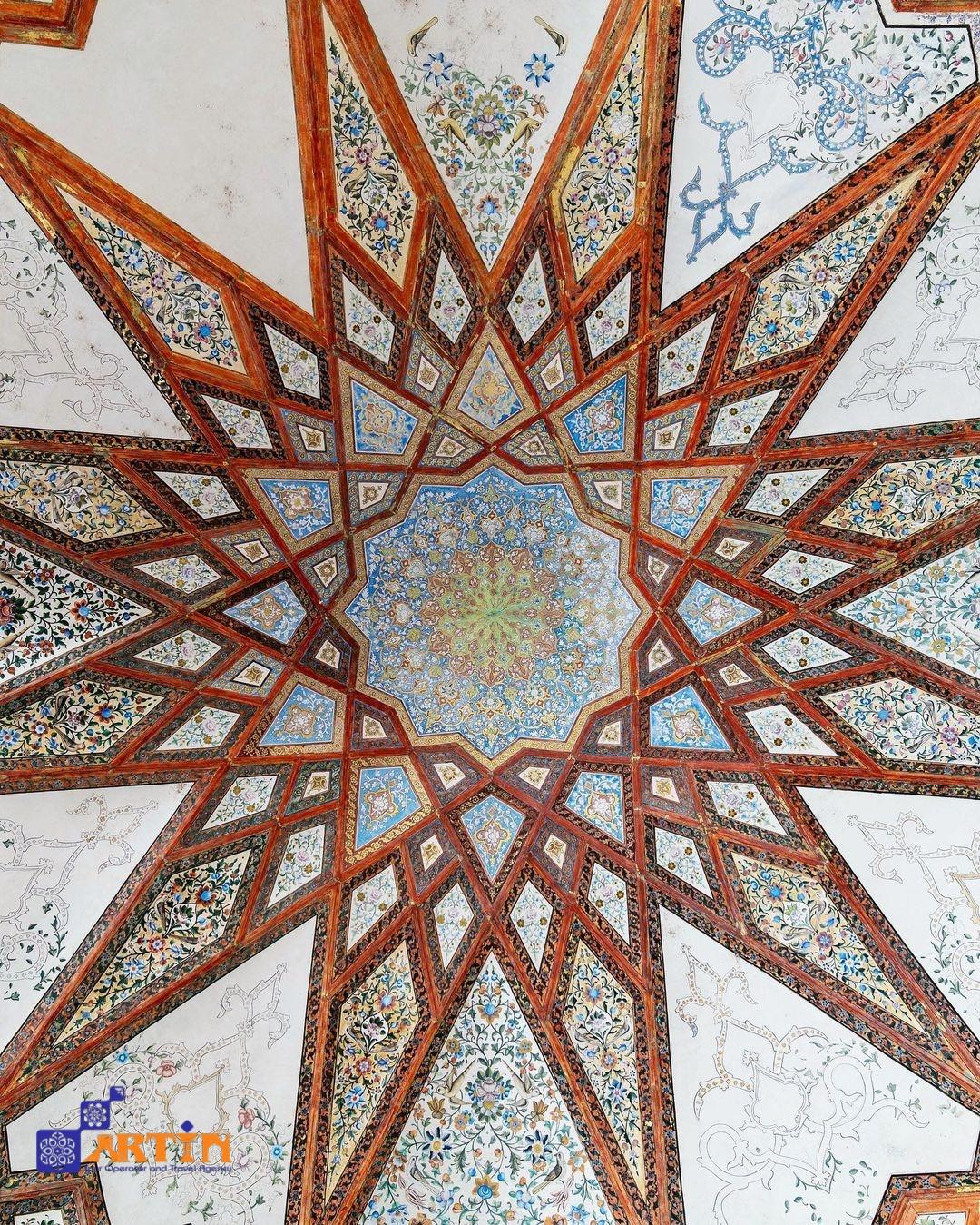Persian garden in Kashan Iranian architec