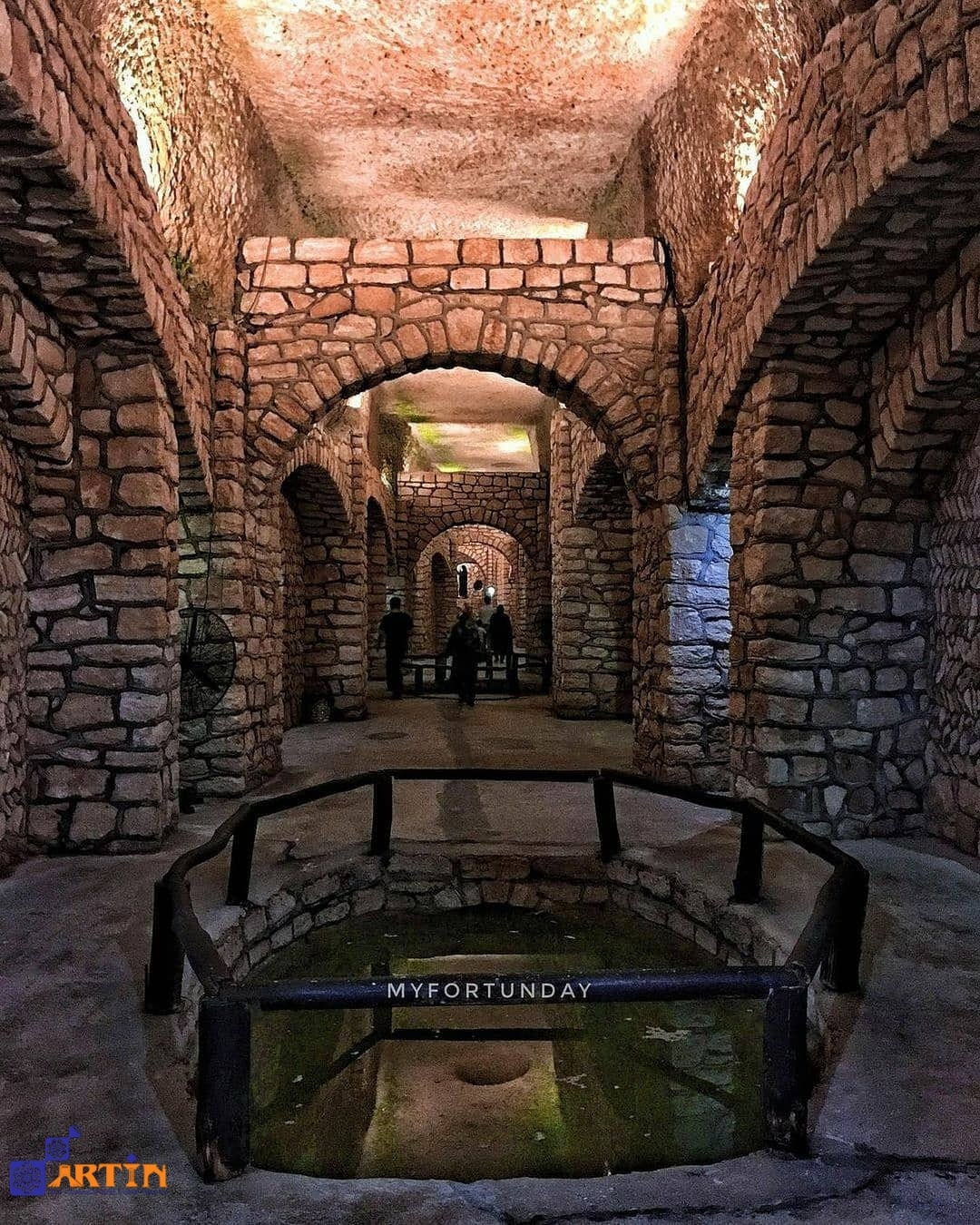 Kariz underground city in Kish travel guide