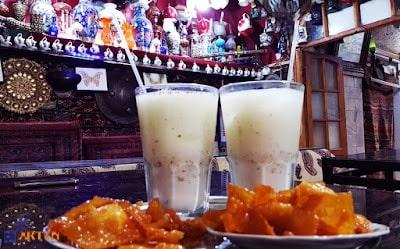 Gooshfil Doogh traditional Iranian snack