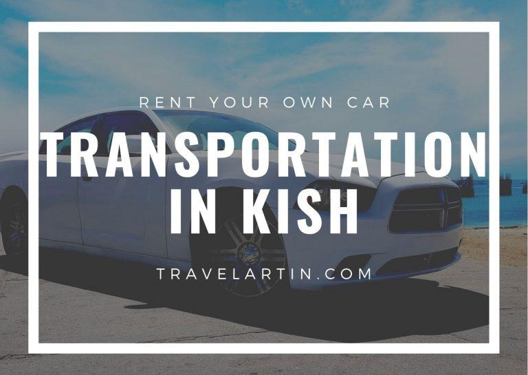 transportation Iran rental cars in Kish island travelartin.com