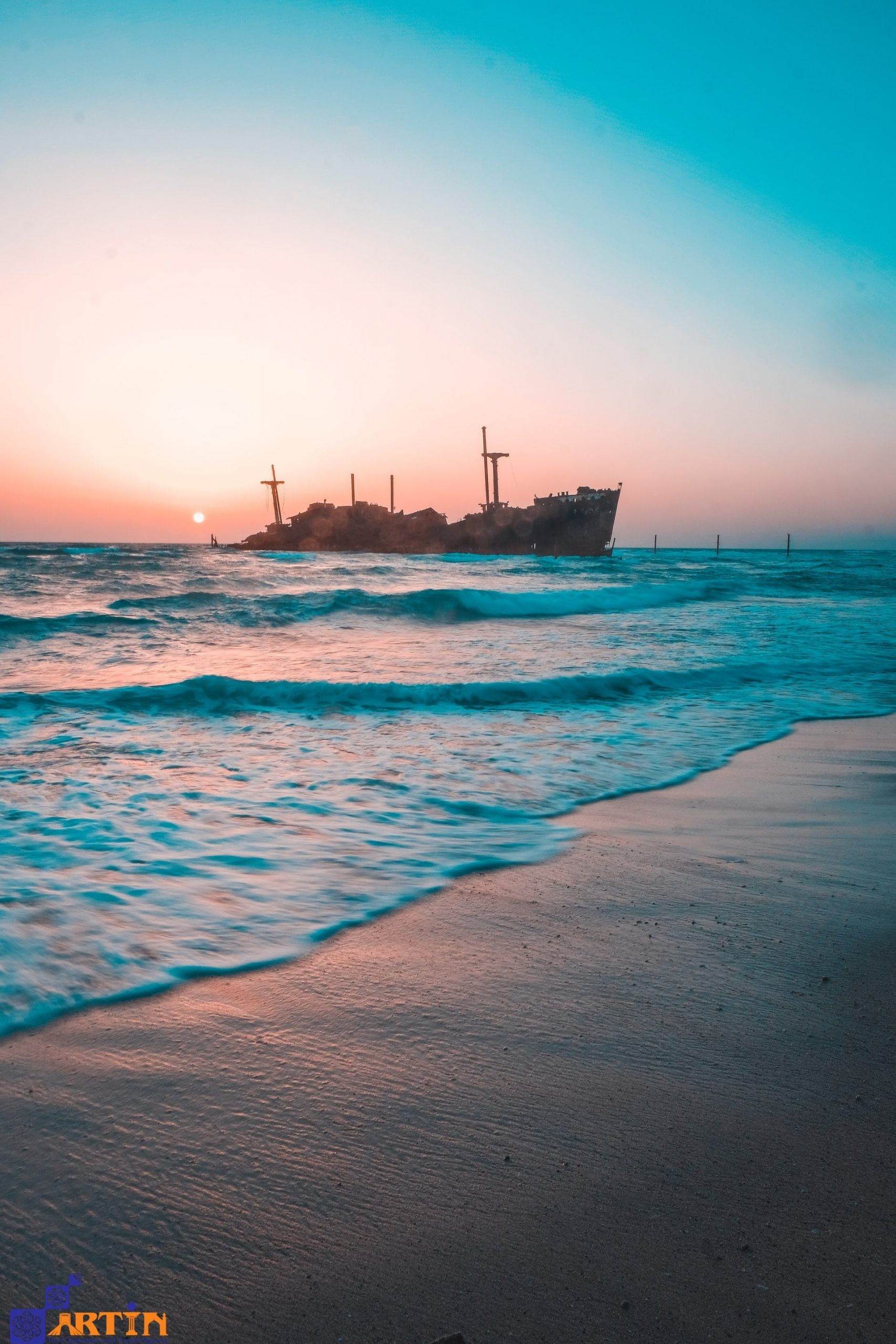 beautiful kish island tourist attractions Persian gulf