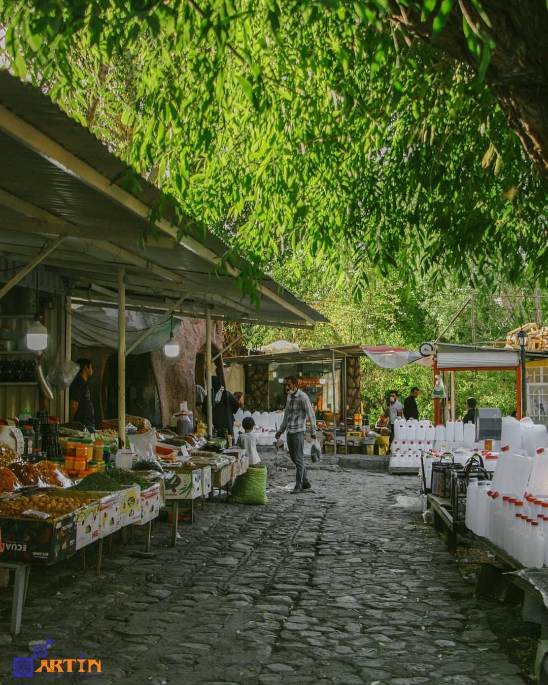 kandovan touristi attraction Iran summer destination