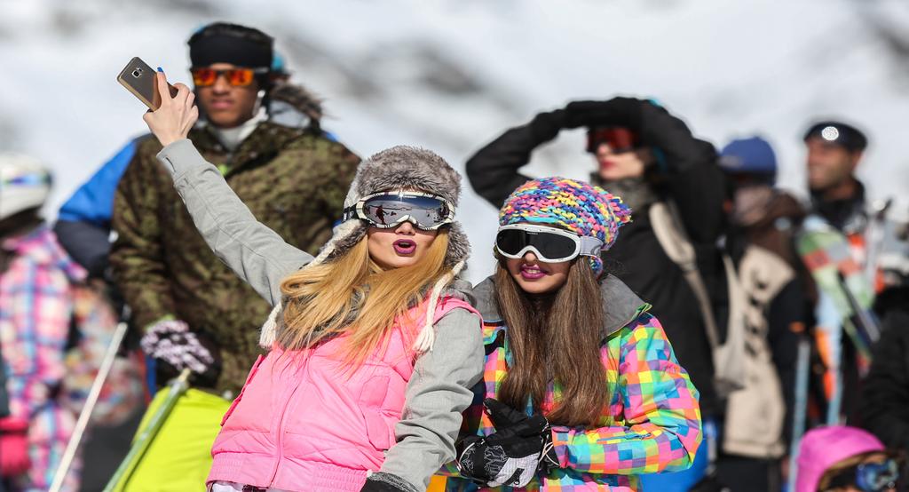 ski winter sports in Iran Artin Travel