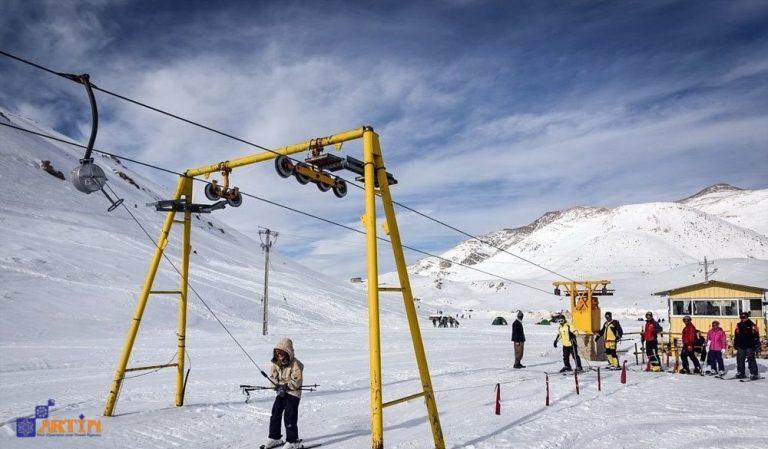Skiing tours and trips Artin Travel Iran
