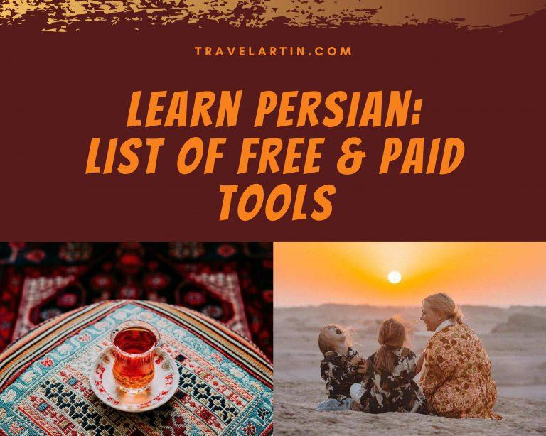 Learn farsi free tools and paid websites list Artin Travel