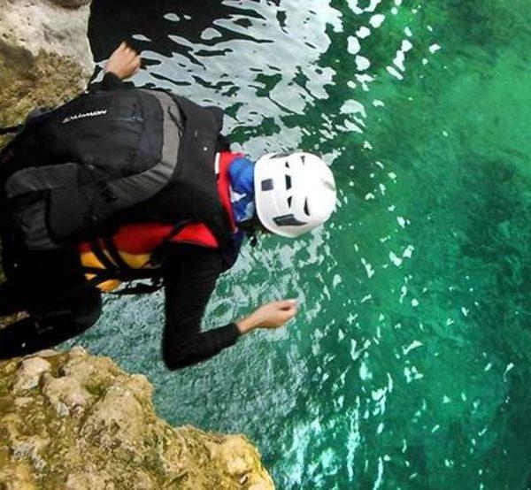 canyoning Iran adventure tours travelartin.com